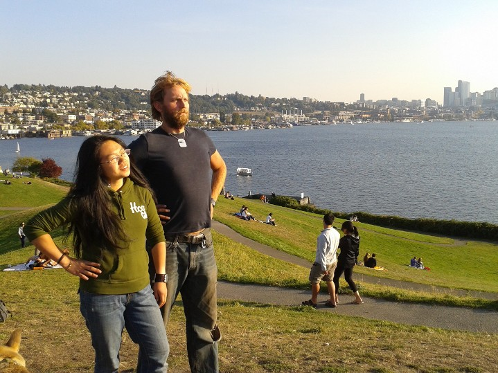 moose and michelle seattle wa gas works park | the lonely tribalist