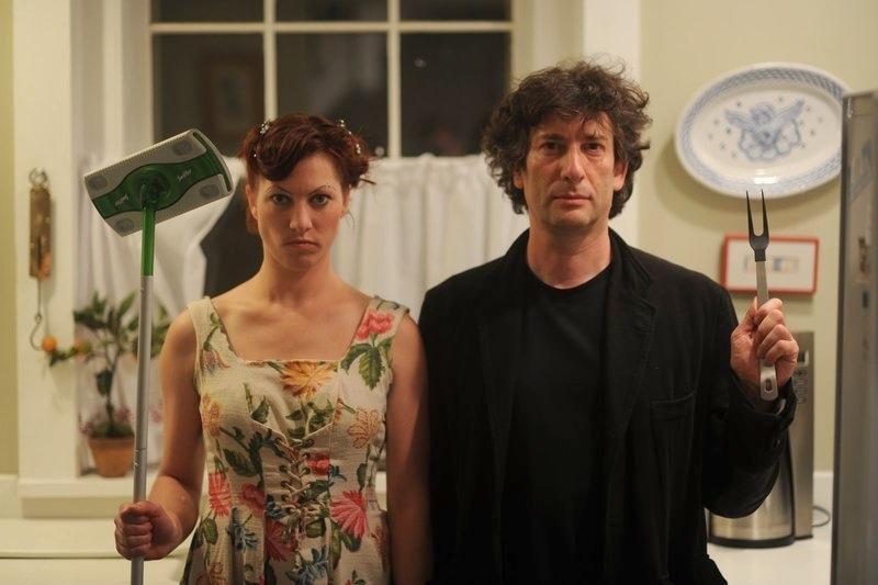 Amanda Palmer Neil Gaiman American gothic | The Lonely Tribalist