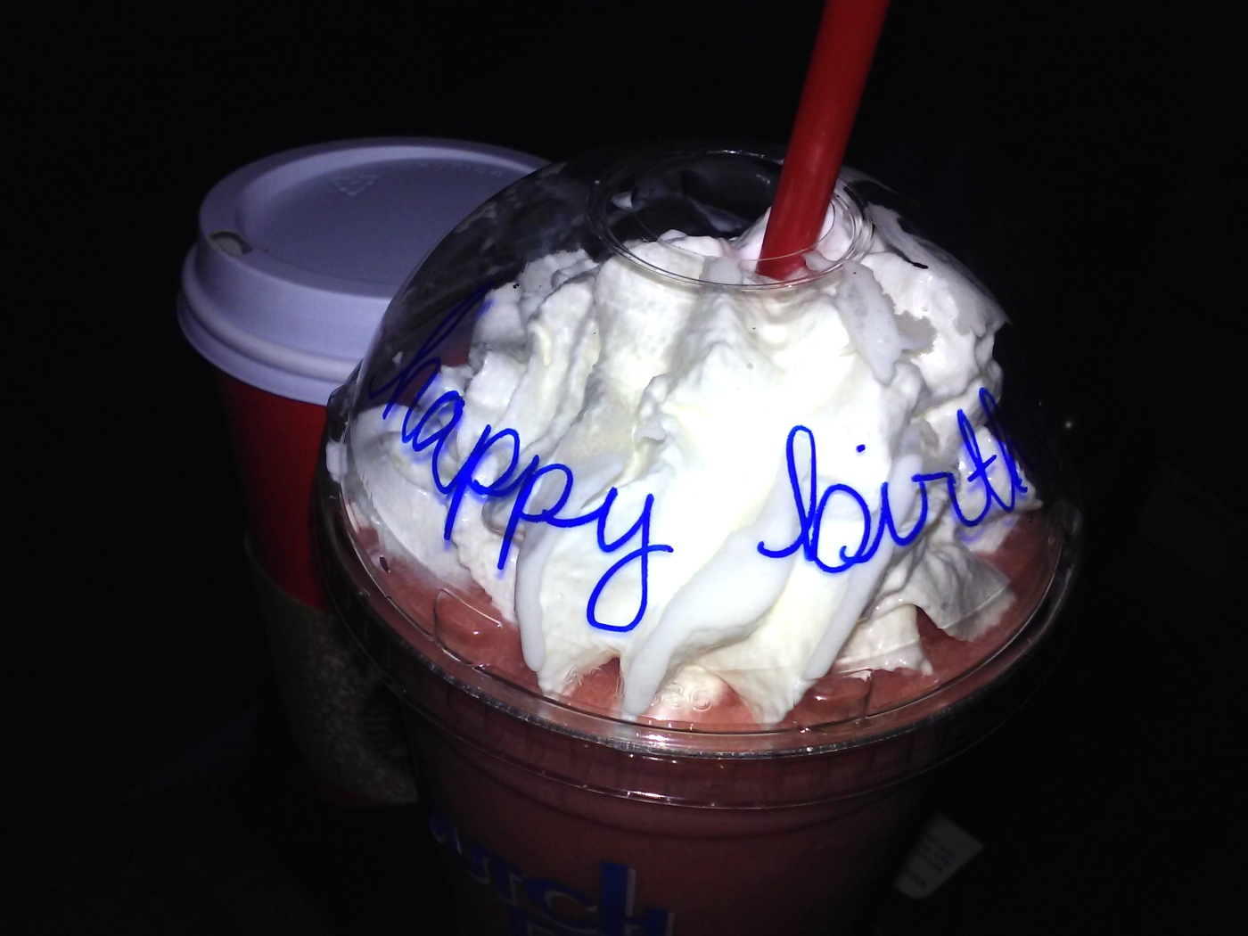 Moose free Dutch Bros birthday drink | The Lonely Tribalist