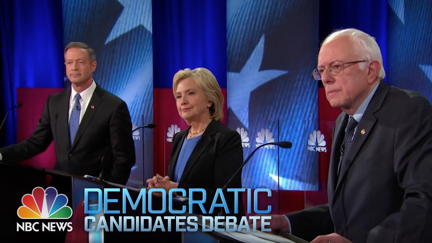 fourth democratic debate nbc 2016 | The Lonely Tribalist