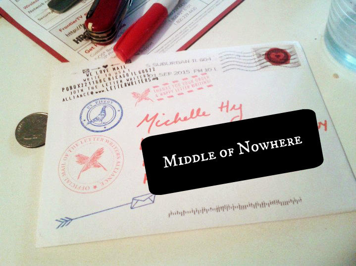 letter writers alliance envelope | the lonely tribalist