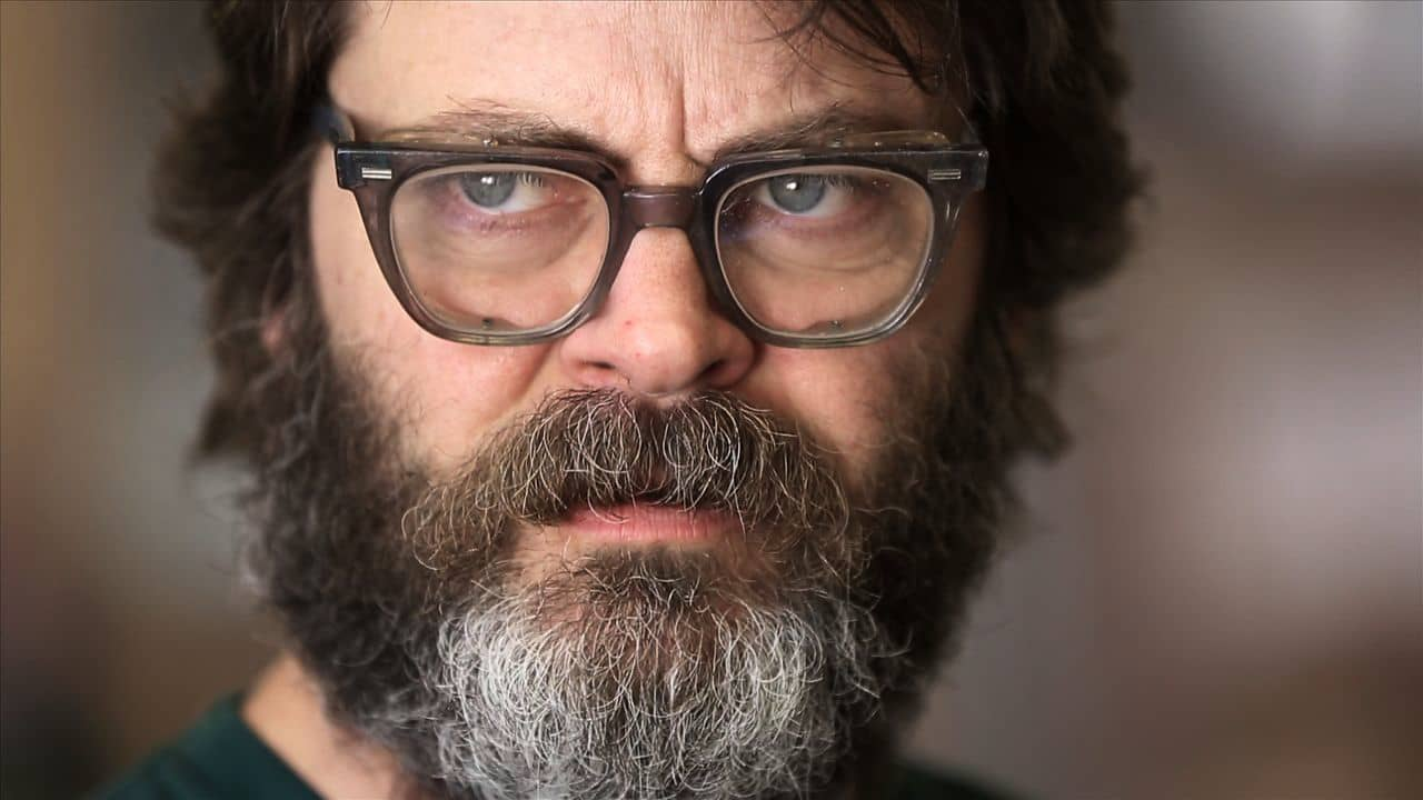 nick offerman fidlar concaine music video still | the lonely tribalist