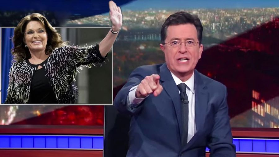 stephen colbert sarah palin | the lonely tribalist