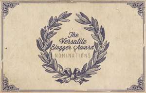 versatile blogger award nominations badge | The Lonely Tribalist