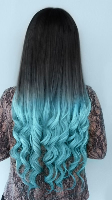 beautiful pretty blue hair color dye | the lonely tribalist