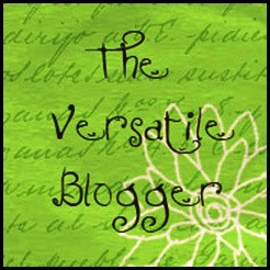versatile blogger award | the lonely tribalist