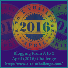 april az challenge logo badge | the lonely tribalist