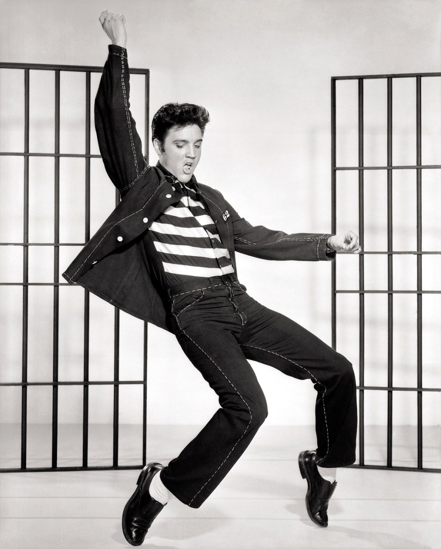 elvis silly rock dancing | the lonely tribalist