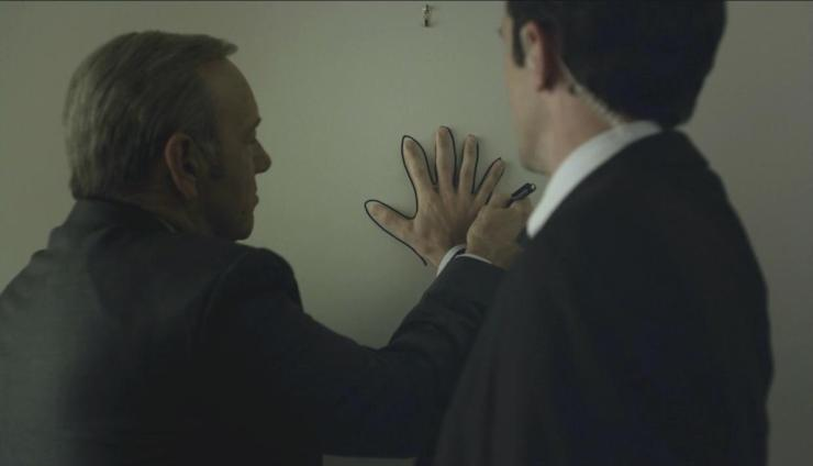 house of cards underwood meechum hand season 4 | the lonely tribalist
