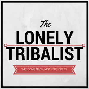 The Lonely Tribalist Welcome Logo