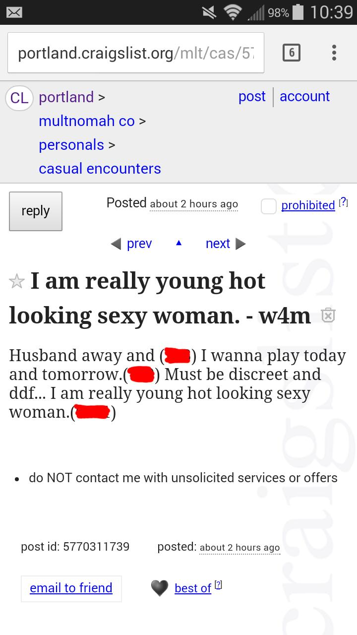 I Woke Up to a Mildly Disturbing Craigslist Ad this Morning